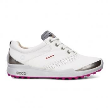ECCO BIOM Hybrid lady Golf Schuh, white-candy