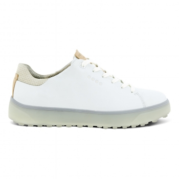 ECCO Golf lady Schuh TRAY laced, white