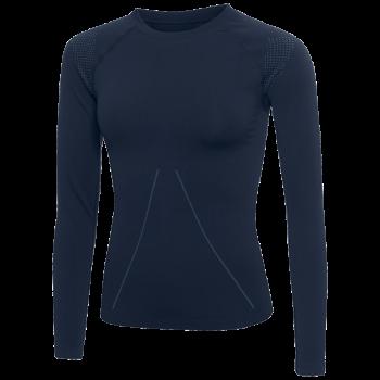 Galvin Green ELSIE LS Skintight Shirt, navy
