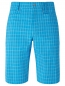 Preview: Callaway mens Short ventilated plaid, blue