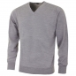 Preview: Greg Norman V-Neck Merino Sweater, grey