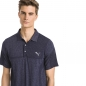 Preview: Puma mens evoKnit Polo, azure