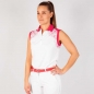 Preview: Galvin Green MEJA lady SL Polo, white-red