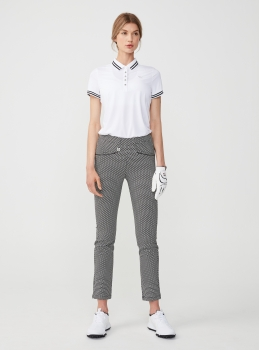 Röhnisch SMOOTH lady Pant, white-black