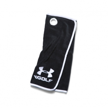 Under Armour Golf towel /Schlägertuch, black