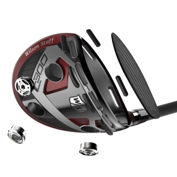 Wilson mens C300 Fairway Holz, LH 15°