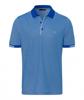 Brax mens Polo PIUS in blue