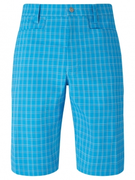 Callaway mens Short ventilated plaid, blue