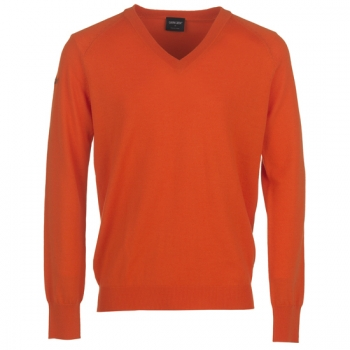 Galvin Green CLIVE Woll Sweater, orange