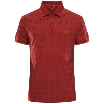 Galvin Green E-THE RED mens Edge Polo, red