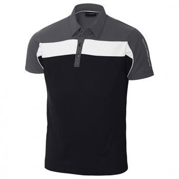 Galvin Green MANNY mens Polo, black-iron