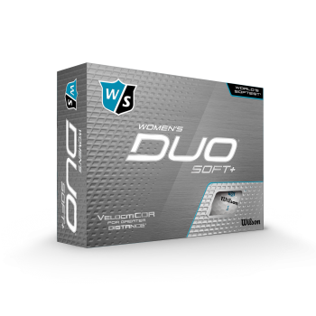 Wilson DUO SOFT mens/lady, weiß, dz