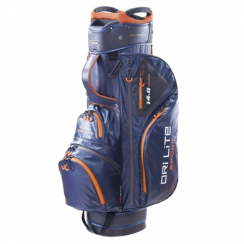 Big Max Dri-lie Sport cart Bag, navy-orange