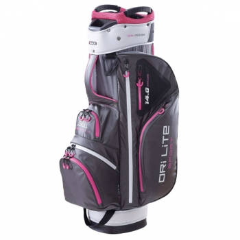 Big Max Dri-lie Sport cart bag, charcoal-fuchsia