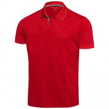 Galvin Green ROD Junior Polo in red