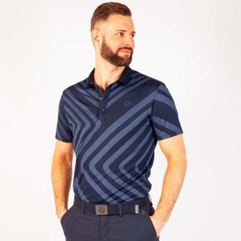 Galvin Green MALONE mens Polo, navy