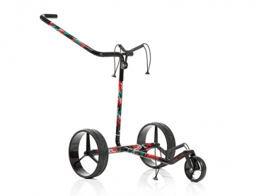 JuCad Travel Camouflage 3-Rad Push Trolley