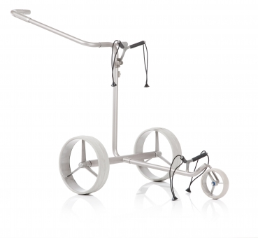 JuStar Silver 3Rad Push Trolley