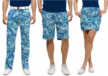 "Loudmouth™ Pant ""summer of love"", blue"