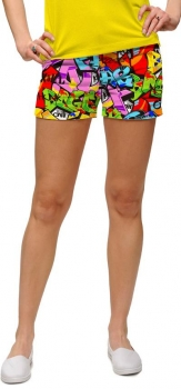 "Loudmouth™ lady mini Short ""Tags"""