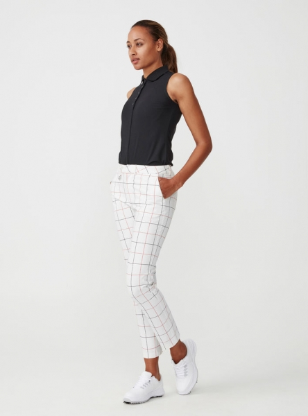 Röhnisch CHECK Chino lady Golf PANT, weiß