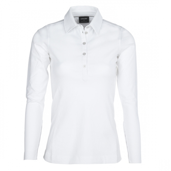 Galvin Green Damen LS Polo MINDY in white