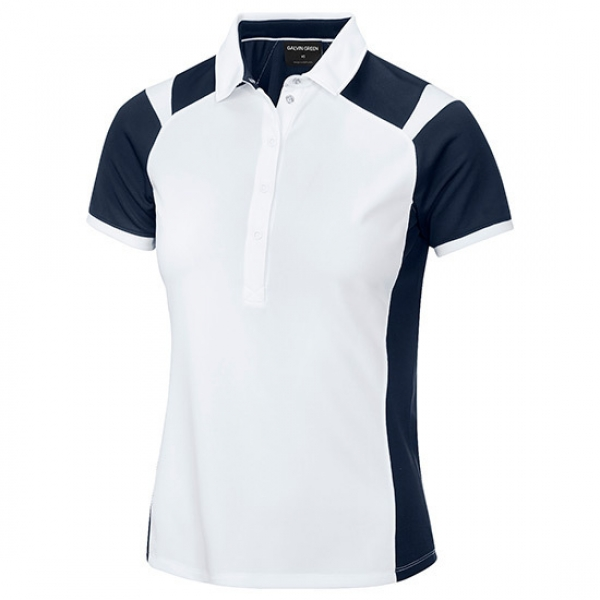 Galvin Green Polo MILEY in white-navy