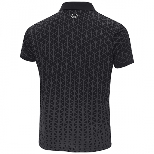 Galvin Green MATT mens Polo, carbon