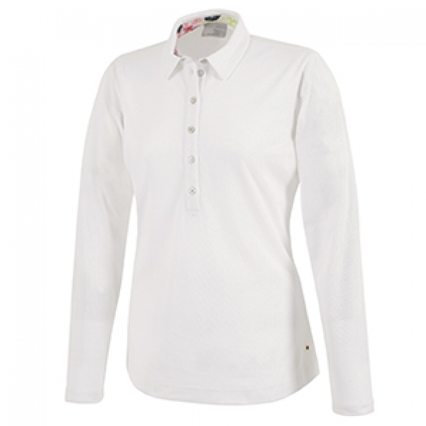 Galvin Green Damen LS Polo MELINDA, white