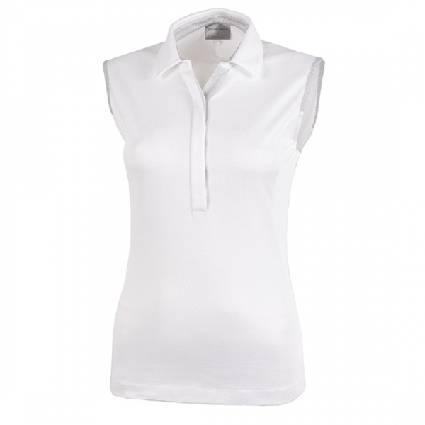 Galvin Green MILLIE SL lady Polo, weiß