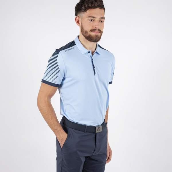 Galvin Green Marcus mens Polo, blue