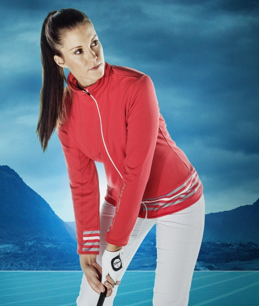 Galvin Green Insula™ jacket DAISY, red