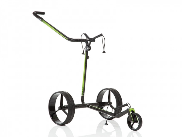 JuCad Travel 2.0 Carbon, E-Trolley in black-green
