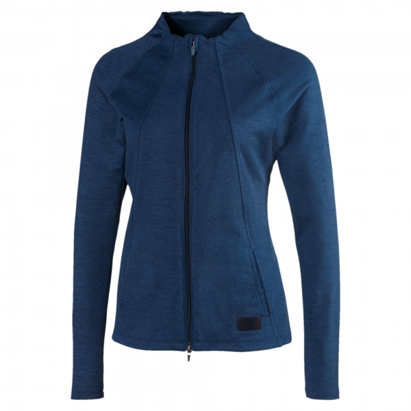 Puma lady CLOUDSPUN warm jacket, denim