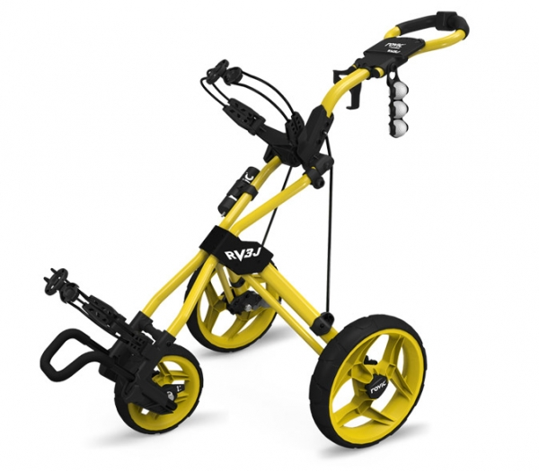 ROVIC Junior Push Trolley RV3J, yellow
